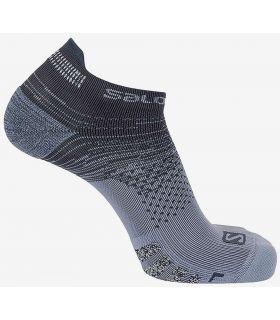 Salomon Chaussettes de Prédire Basse Gris Salomon Chaussettes de Chaussures de Course Running Tailles: 39 / 41, 42 / 44;