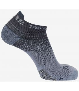 Salomon Socks Predict Low Grey - Socks Running