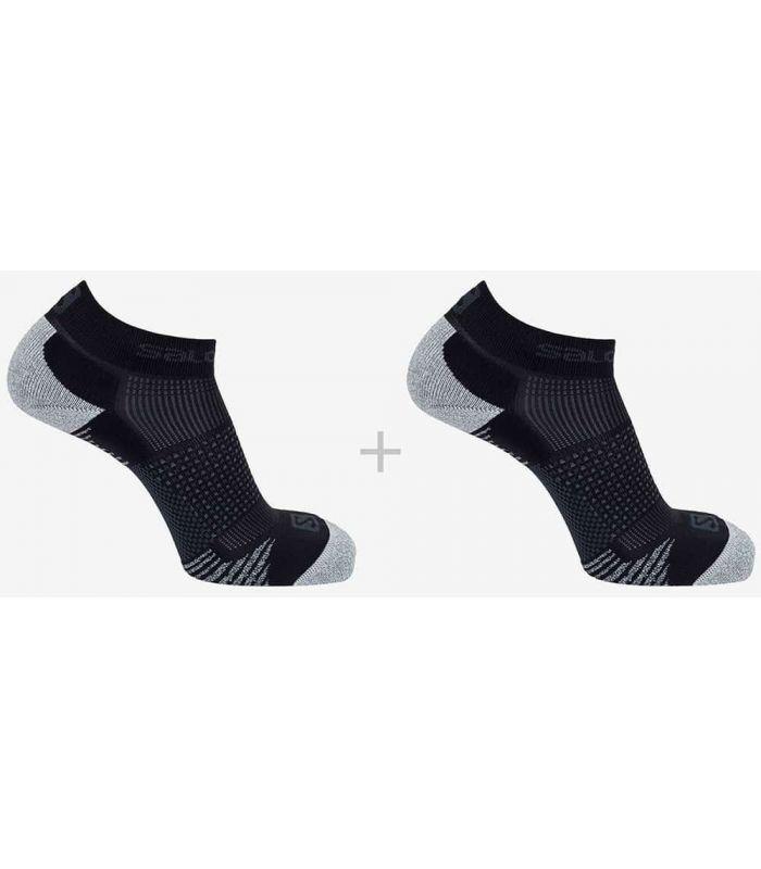 Salomon Socks Running Cros 2 Pack Black - Running Socks