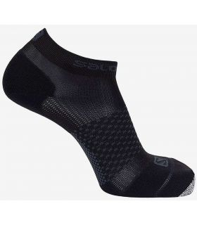 Salomon Chaussettes de Cross Pro Noir Salomon Chaussettes de Chaussures de Course Running Tailles: 39 / 41, 42 / 44; Couleur: