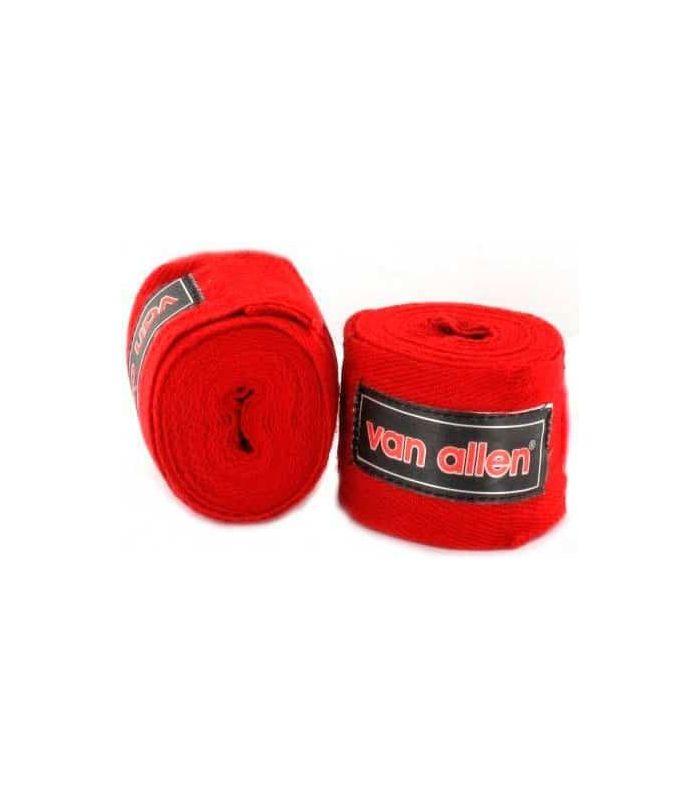 Bandages De Boxe Rouge - Vider la boxe