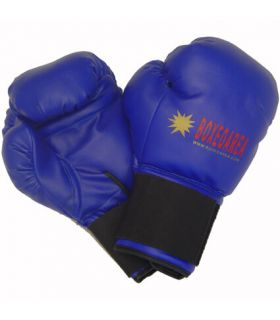 Boxing gloves BoxeoArea 1805 Blue Leather - Boxing gloves