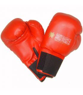 Gants de boxe BoxeoArea 1807 Rouge BoxeoArea de Boxe Gants de Boxe Tailles: 10 oz, 12 oz; Couleur: rouge