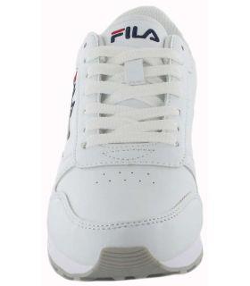 Ligne Orbite Basse Wmn Blanc Fila Chaussures de Femmes de mode de Vie Décontracté Tailles: 37, 38, 39, 40, 41; Couleur: blanc