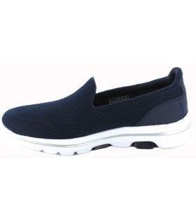 Skechers Go Walk 5 W Marino Skechers Calzado Casual Mujer Lifestyle Tallas: 39, 40, 41, 37, 38, 36; Color: azul marino