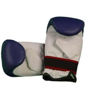 Gants de Sac de Boxe punch 202 Bleu BoxeoArea Gants de boxe sac de frappe de Boxe Tailles: m, l; Couleur: bleu