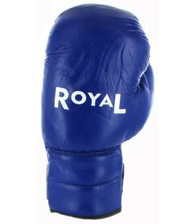 Boxing gloves Royal 1805 Blue Leather - Boxing gloves