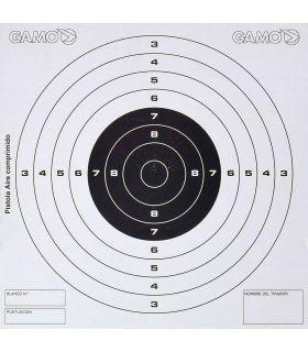 Gamo 50 Dianas Competición Pistola Gamo Municion Carabinas, pistolas Color: blanco