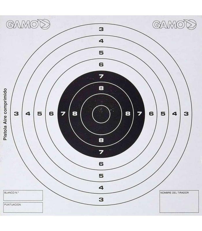 Municion - Gamo 50 Dianas Competición Pistola blanco Carabinas, pistolas
