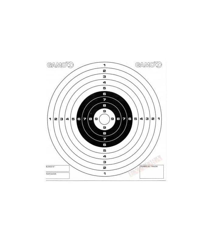 Municion - Gamo 50 Dianas Competición Carabina blanco Carabinas, pistolas