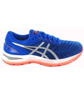 Asics Gel Nimbus 22 Blue - Mens Running Shoes