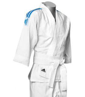 Adidas Kimono de Judo J500 Adidas Kimono de Judo Tailles: 160 cm, 170 cm, 180 cm, 190 cm, Couleur: blanc