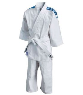Adidas Kimono de Judo J180 Junior Adidas Kimono de Judo Judo dimensions: 110 cm, 120 cm, 150 cm, 160 cm, Couleur: blanc