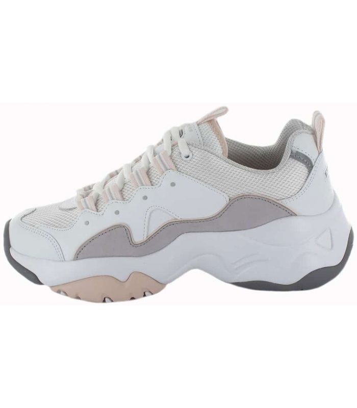 Calzado Casual Mujer - Skechers D'Lites 3 Zenway blanco Lifestyle
