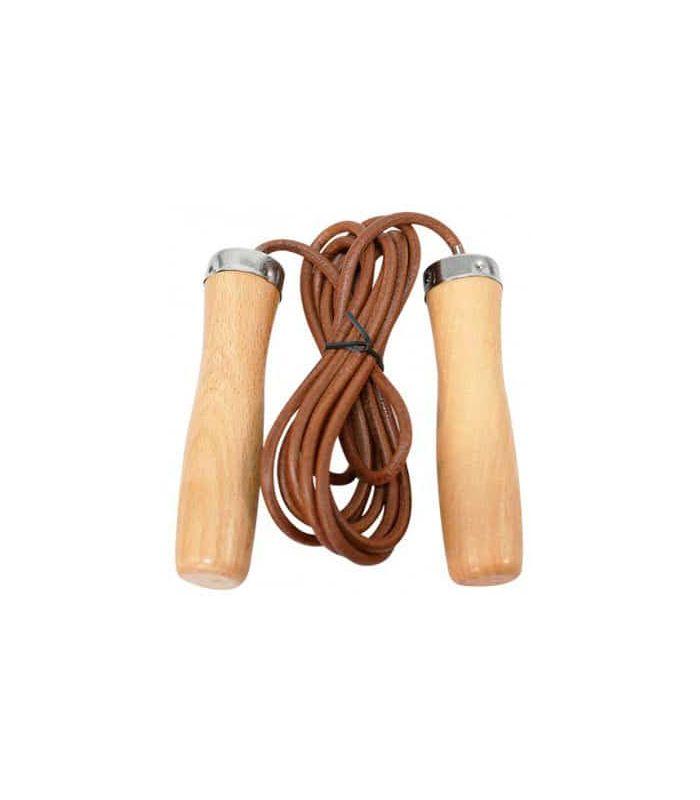 Comba Cuero Softee Combas Fitness Color: marron