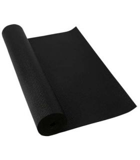 Softee Mat Pilates Yoga Deluxe 6mm Black Softee Mats fitness Fitness Color: black