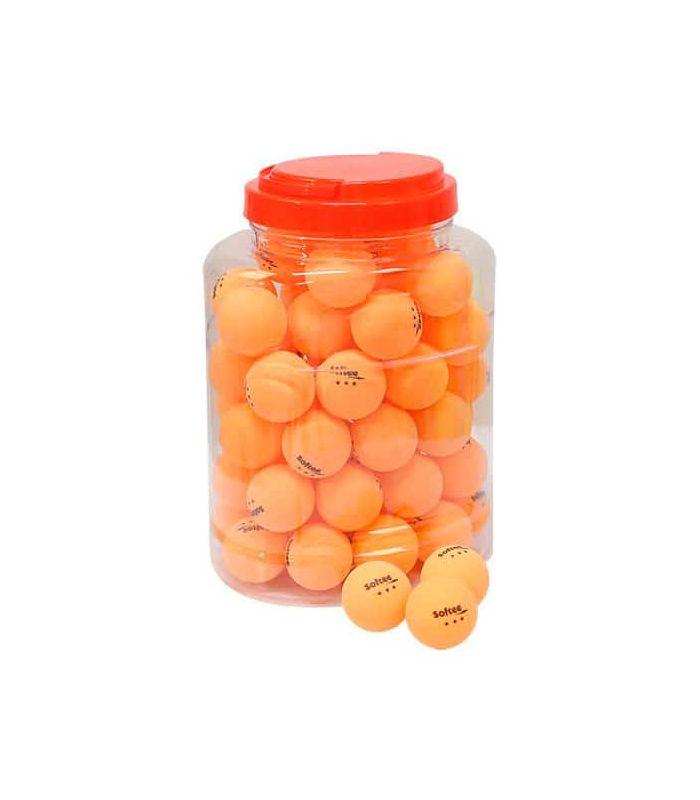 Pelotas Ping Pong - Juego 60 Pelotas Tenis de Mesa 3 Estrellas Naranja naranja Tenis Mesa