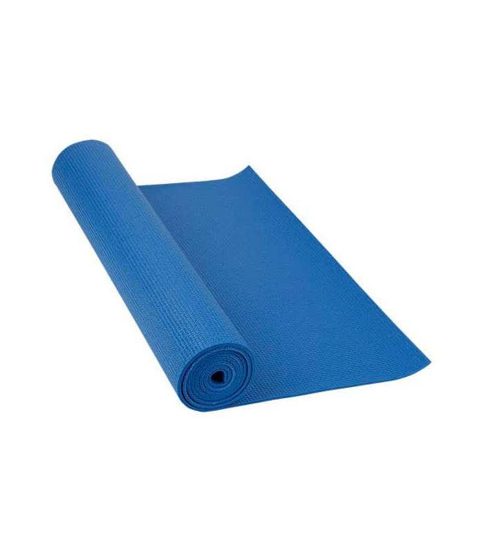 Softee Mat Pilates Yoga Deluxe 4mm Blue - Fitness mats