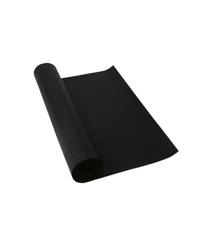 Softee Mat Pilates Yoga Deluxe 4mm Black Softee Mats fitness Fitness Color: black