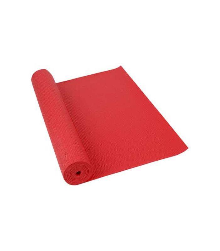 Softee Tapis de Pilates, de Yoga de Luxe 4 mm Rouge