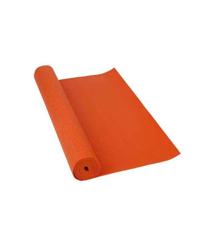 Softee Mat Pilates Yoga Deluxe 4mm Orange Softee Mats fitness Fitness Color: orange