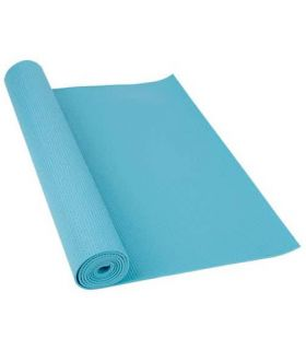 Softee Mat Pilates Yoga Deluxe 4mm light blue Softee Mats fitness Fitness Color: light blue