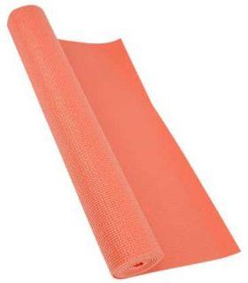 Softee Tapis de Pilates, de Yoga de Luxe de 4mm de Corail Softee Tapis de fitness de Fitness Couleur: rose