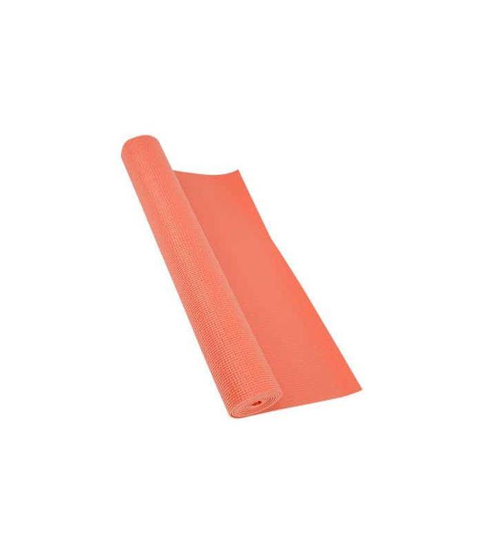 Colchonetas fitness - Softee Colchoneta Pilates Yoga Deluxe 4mm Coral rosa Fitness