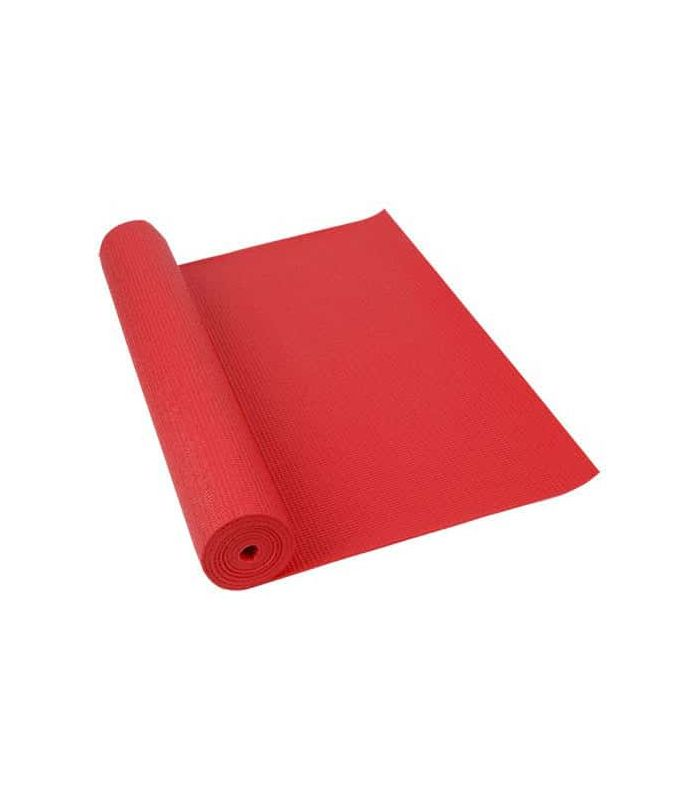 Softee Mat Pilates Yoga Deluxe 6mm Red - Mats fitness