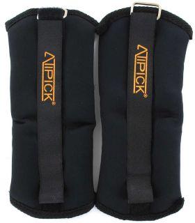 Bracelets Bracelets Confuse 2x0,4 Kg Atipick Poids de la Cheville Inébranlable de remise en forme: Couleur: noir