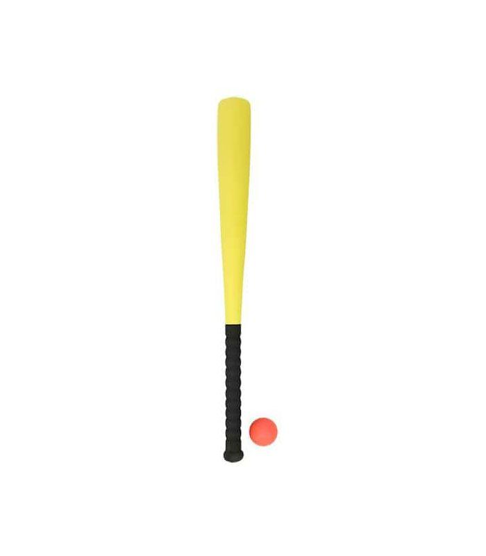 Baseball - Bate Beisbol Foam con pelota Amarillo amarillo Mas Deportes