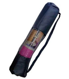 Softee Bag Mat Yoga Black - Mats fitness