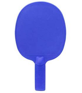 Pelle de Ping-Pong PVC Bleu Softee Lames de Tennis de Table de Tennis de Table Couleur: bleu