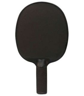 Pelle de Ping-Pong de PVC Noir Softee Lames de Tennis de Table de Tennis de Table Couleur: noir