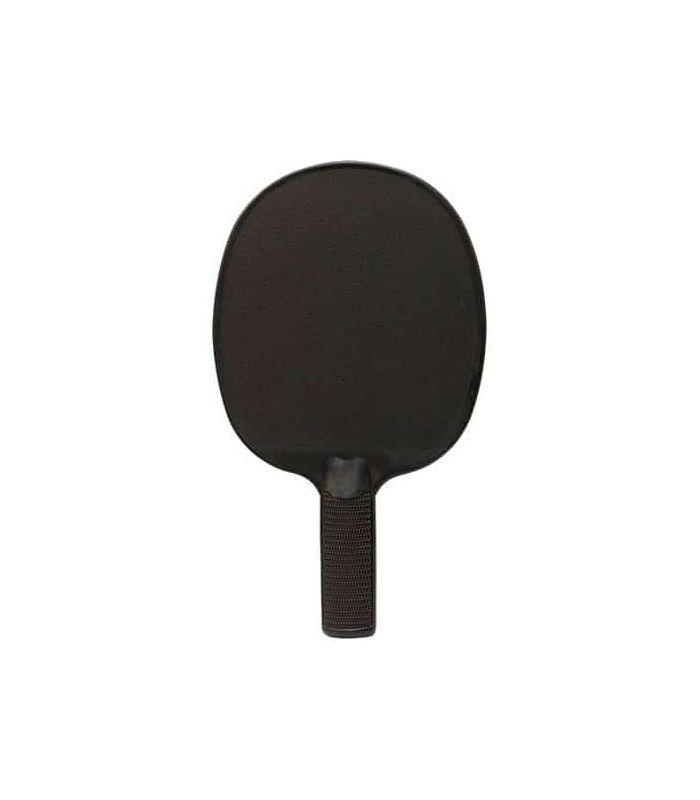 Pelle de Ping-Pong de PVC Noir Softee Lames de Tennis de Table de Tennis de Table Couleur: noir