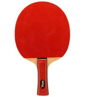 Pelle de Ping-Pong P030 Softee Lames de Tennis de Table de Tennis de Table Couleur: rouge