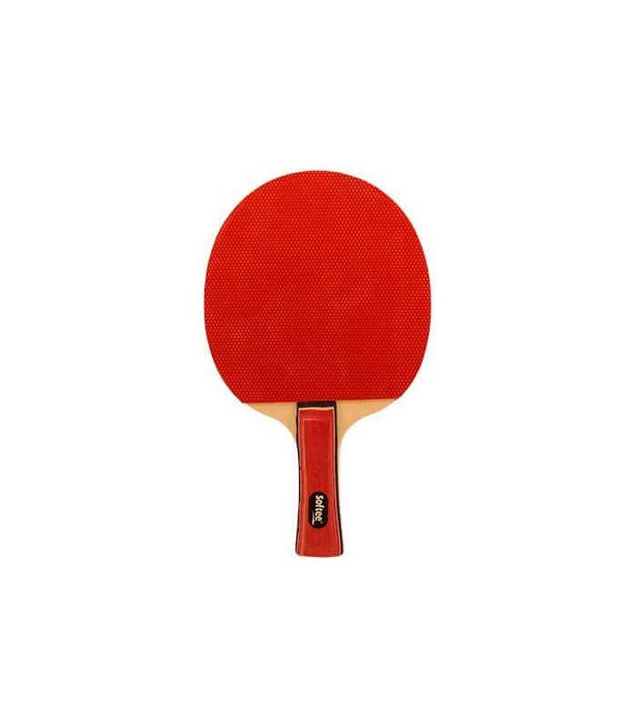 Pelle de Ping-Pong P030 Softee Lames de Tennis de Table de Tennis de Table Couleur: rouge