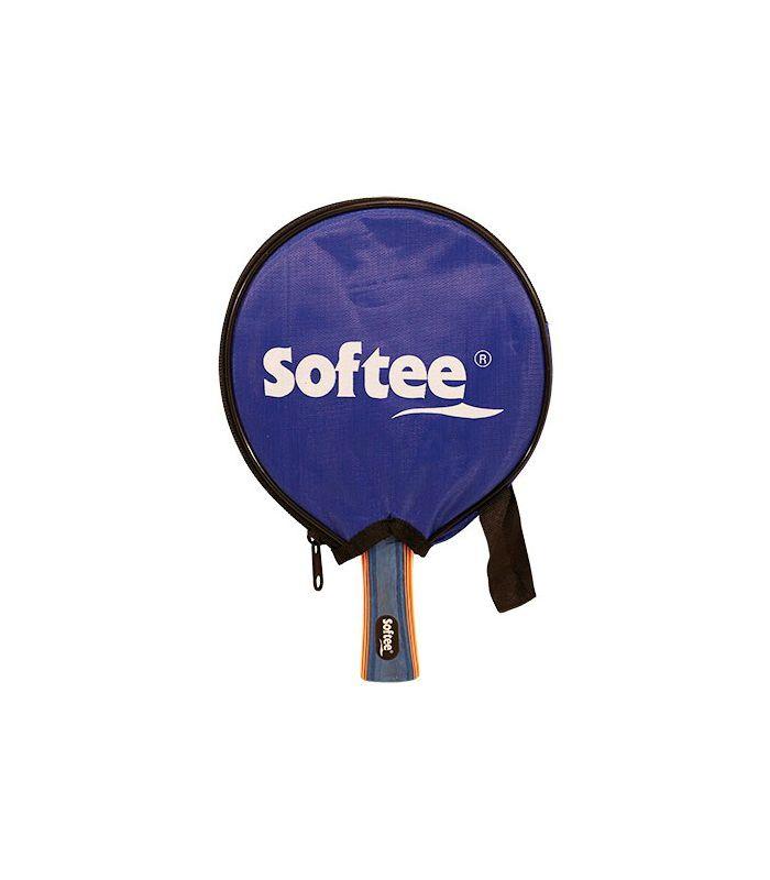 Pelle de Ping-Pong P100 Softee Lames de Tennis de Table de Tennis de Table Couleur: rouge