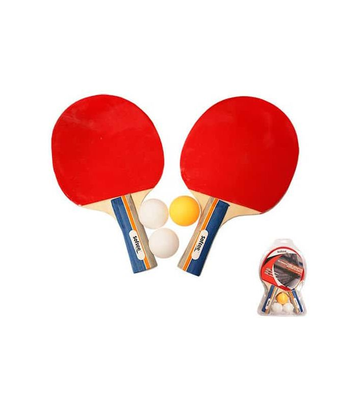Palas Tenis Mesa - Kit Ping Pong Dynamic rojo Tenis Mesa