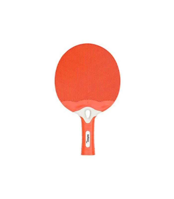 Pelle de Ping-Pong de l'Énergie Rouge Sof Sole Lames de Tennis de Table de Tennis de Table Couleur: rouge