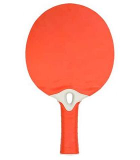Pelle de Ping-Pong de l'Énergie Rouge Sof Sole Lames de Tennis de Table de Tennis de Table Couleur: rouge