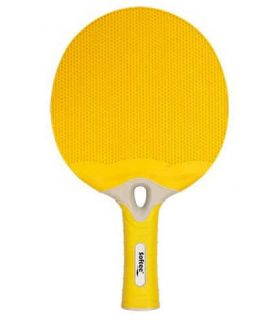 Pelle de Ping-Pong de l'Énergie Jaune Sof Sole Lames de Tennis de Table de Tennis de Table Couleur: jaune