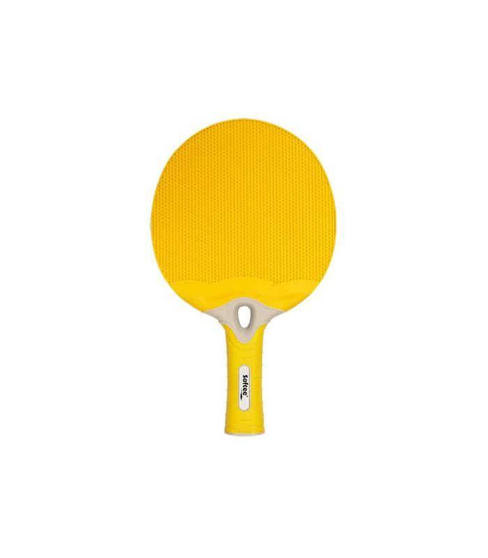Pelle De Ping-Pong De L'Énergie Jaune