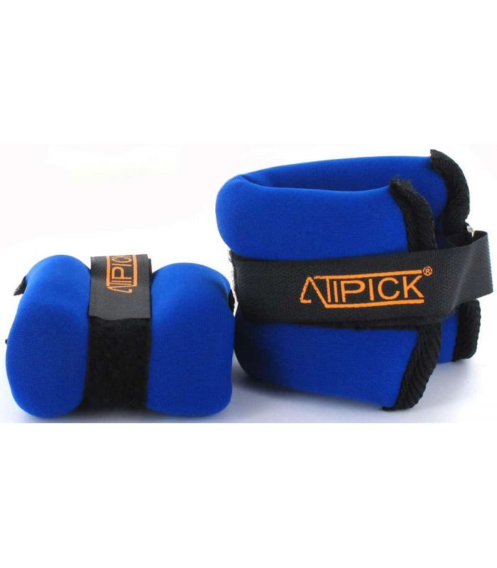 Anklets Wristbands Muddled 2x0,4 Kg Blue Atipick Weights - Ankle Dogged Fitness Color: blue