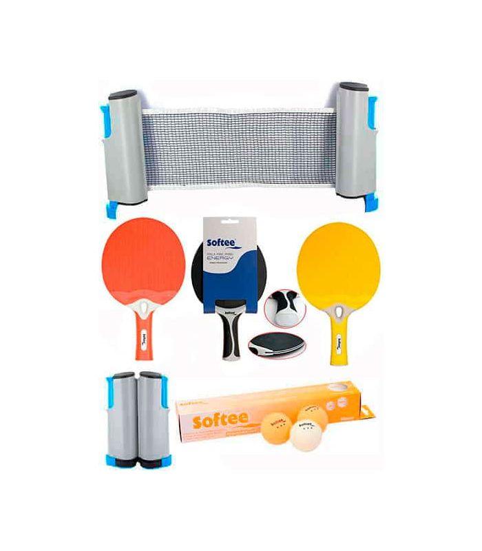 D'Énergie Super Jeu De Ping-Pong Rouge/Jaune