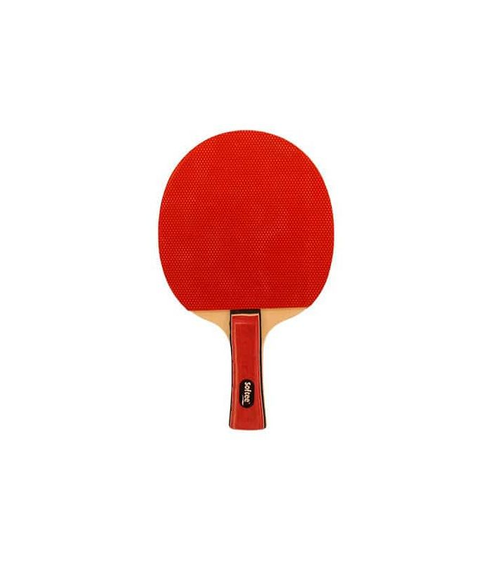 Super Jeu de Tennis Blanc Softee Lames de Tennis de Table de Tennis de Table Couleur: rouge
