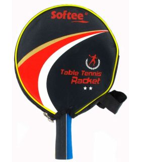 Super Jeu de Ping-Pong P300 Softee Lames de Tennis de Table de Tennis de Table Couleur: noir