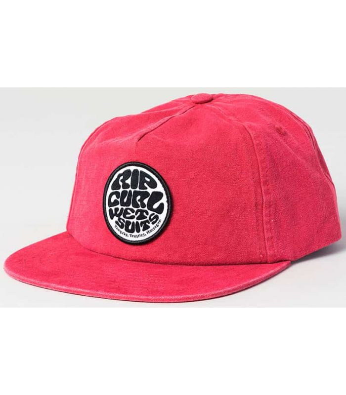 Rip Curl Cap, Lavé Wetty SB Rip Curl Chapeaux, Visières Running Textile Running Couleur: rouge