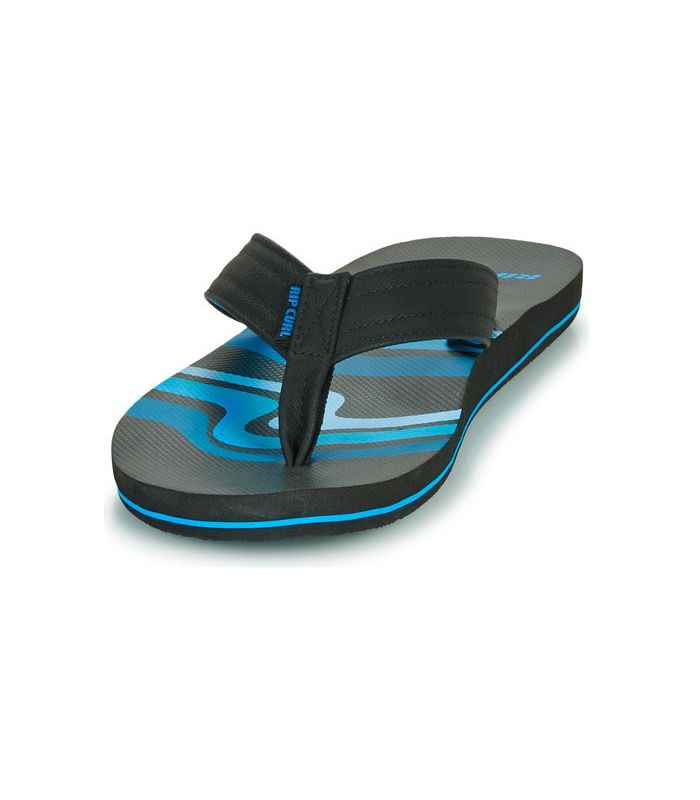 Shop Sandals/Chancas Man-Rip Curl Ripper black Sandalias/Chancets