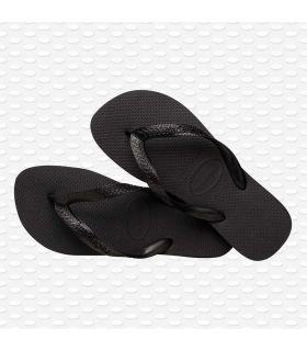 Havaianas Havaianas Top Noir Magasin-Sandales / Tongs Femmes Sandales Pantoufles